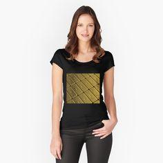 Promote | Redbubble V Neck, Luxury, Gold, Women, Fashion, Moda, Fashion Styles, Fashion Illustrations, Yellow