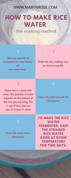 How to Prepare Rice Water for Hair Growth — A Potent Natural Hair Remedy