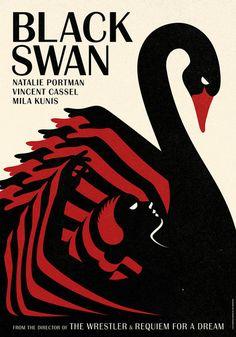 La Boca - Black Swan poster