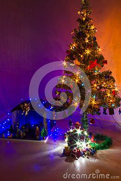 Download Christmas Crib And Tree Stock Photo for free or as low as Rs. 13.01INR. New users enjoy 60% OFF. 20,404,958 high-resolution stock photos and vector illustrations. Image: 36070560