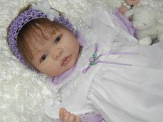 Reborn Baby Shyann by Aleina Peterson - 5 Cute Hair Accessories - MUST SEE | eBay