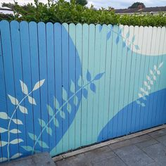 Creating an Outdoor Fence Mural Room Wall Painting, Mural Wall Art, Painting On Wood, Fence Art, Diy Fence, Backyard Projects, Outdoor Projects, House Projects, Garden Mural