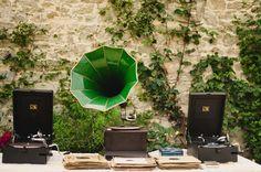 gramaphone DJ at wedding | Joseph Yarrow