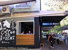 Coffee on Hunter, Newcastle mall