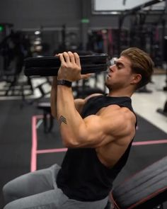 Gym Workout Chart, Gym Workout Videos, Gym Workout For Beginners, Shoulder Workout Bodybuilding, Bodybuilding Workouts, Gym Workouts For Men, Weight Training Workouts, Boulder Shoulder Workout, Shoulder Workout Routine