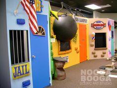 backdrop ideas for kids area