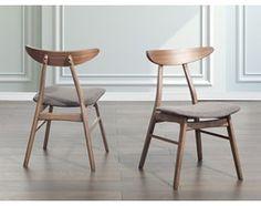 Drewniane krzeslo tapicerowane szare - krzeslo do jadalni, kuchni - LYNN