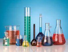 Métodos de limpeza para vidreiros de laboratório