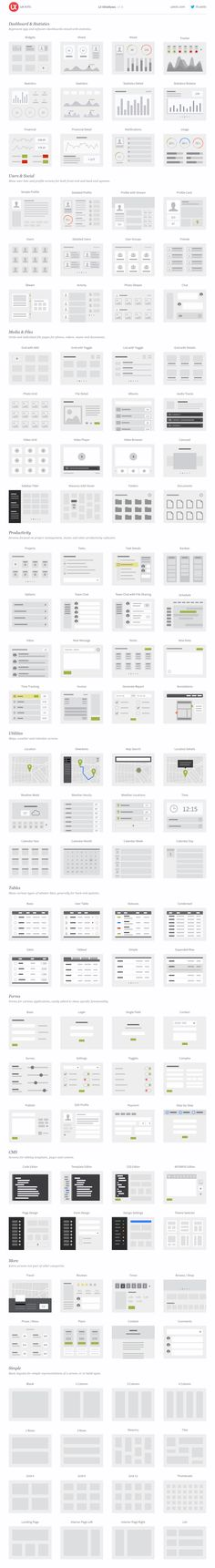 UI Wireflows on Behance