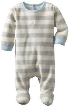Amazon.com: Coccoli Baby-Boys Newborn Plush Velour Footie: Clothing