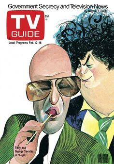 Caricatures tv guide covers | February 12, 1977 | TV Guide | Pinterest