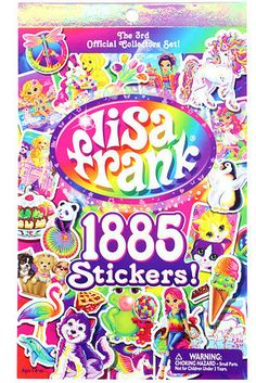 This Lisa Frank sticker book. | 27 Gifts Every '90s Girl Will Want To Keep For Herself