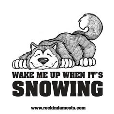 ♡ Snow dog is taking a day off...but dreaming of getting back to what he loves!