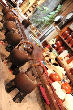 Old-Fashioned Tea House in Jiufen, Taiwan http://exploretraveler.com http://exploretraveler.net