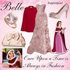 Disney Style: Belle (2), created by trulygirlygirl on Polyvore