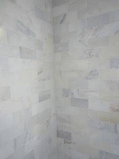 Greecian White 3 in. x 6 in. Polished Marble Floor and Wall Tile http://www.homedepot.com/p/MS-International-Greecian-White-3-in-x-6-in-Polished-Marble-Floor-and-Wall-Tile-1-sq-ft-case-THDW1-T-GRE-3x6/100664302?N=5yc1vZaqwiZ1z1195rZ1z13o7aZ1z13zy8Z1z140hb