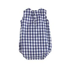 Baby one-piece in gingham - Crewcuts wovens - Boy's baby - J.Crew