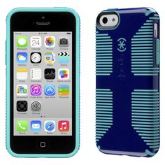 Speck CandyShell Grip Cell Phone Case for iPhone 5C - Cadet Blue (SPK-A2652)