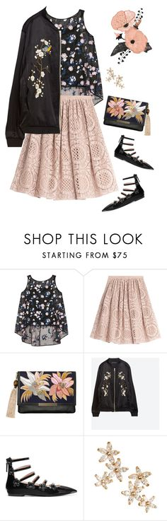"""""""All Floral"""" by musicfriend1 ❤ liked on Polyvore featuring Erdem, Burberry, Lizzie Fortunato, Zara, Fendi and Bonheur"""