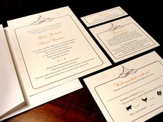 Majestic Monogram Custom Color Wedding Invitations