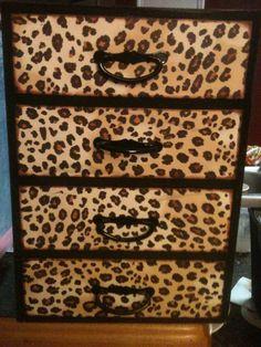 Cheetah Jewelry Box by jennifersjunque on Etsy, $28.50