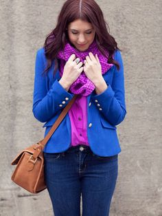 Fashion Fix: blauwe blazer