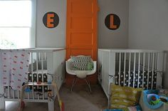 twin boy nursery
