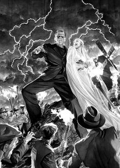 Frankenstein's Monster by Alex Ross