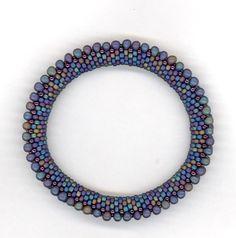 Bead Crochet Pattern: Double Drop Bead by WearableArtEmporium