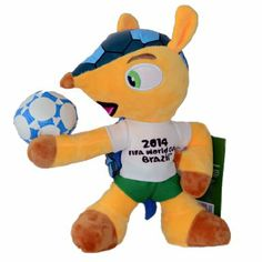 FIFA World Cup 2014 Brazil Official Mascot Fuelco World Cup 2014, Fifa World Cup, Tigger, Brazil, Disney Characters, Disney Face Characters