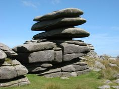 Rough Tor on Bodmin Tor, Cornwall, UK