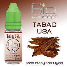 E-liquide 10ml BIO CONCEPT TABAC USA