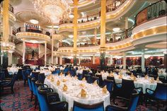 Royal Caribbean - Adventure of the Seas - Main dining room | Flickr - Photo Sharing!