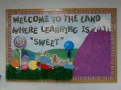Candyland Classroom doors | Capitalization Anchor Chart Idea » Camping Out In Pre-k Bulletin ...