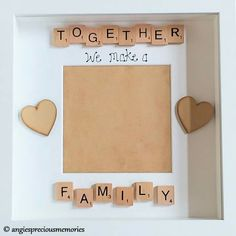 Scrabble Art, Family Trees, Button Art, Pebble Art, Framed Art, Stampin Up, Decoupage, Home And Family, How To Make