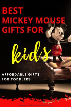 Mickey Mouse toys for 2 year olds. These Mickey Mouse toys are extremely popular and a must have for any toddler. We have a huge selection for you to chose from. Come and see for yourself! #mickeymouseclubhousebirthdayparty #mickeymousebirthday #toys #uniquegiftideasforboys Modern Kids Toys, Creative Toys For Kids, Kids Toys For Boys, Outdoor Toys For Kids, Unique Gifts For Kids, Best Kids Toys, Mickey Mouse Gifts, Homemade Kids Gifts, Kids Toy Boxes