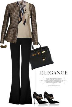 """Classic HERMES BIRKIN Bag"" by fashionmonkey1 ❤ liked on Polyvore"