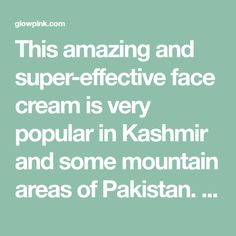This amazing and super-effective face creamis very popular in Kashmir and some mountain areas of Pakistan. It is very effective in removing the dark spots and sun damage from skin and it gives amazing glow. To make this face pack you will need following ingredients: 1 Fresh Apple 1 Lemon 1 tablespoon of Milk powder …