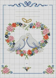 First name: Displayed times: 467 Size: 9 . Cross Stitch Heart, Cross Stitch Cards, Cross Stitch Flowers, Cross Stitching, Cross Stitch Embroidery, Wedding Cross Stitch Patterns, Cross Stitch Designs, Crochet Cross, Machine Embroidery Designs