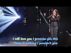 From This Moment On (Shania Twain) by Sam Bailey + Lyrics