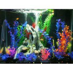 1000 images about fish tank decorations on pinterest for Aquarium decoration kits