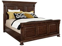 Lyla Cal. King Panel Bed