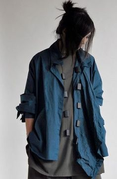 Shonmodern - Novel Shirt in Teal Carnaby