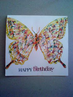 swallowtail butterfly - Stampin' write markers - Stamping Joy