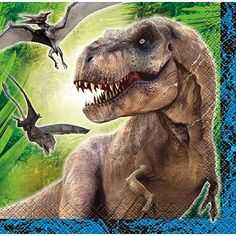 Jurassic World Beverage Napkins 16 Per Pack ** Continue to the product at the image link.