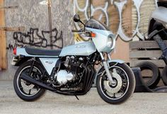 Kawasaki Z1-R  Years produced: 1978 and 1980  Claimed power: 90hp @ 8,000rpm  Top speed: 132mph (period test)  Engine type: 1,016cc air-cooled DOHC inline four  Weight (dry): 245kg (541lb) (563lb w/half full tank)  MPG: 45 (avg.)  (Photo and article by Robert Smith; read more: Motorcycle Classics Nov/Dec 2009)
