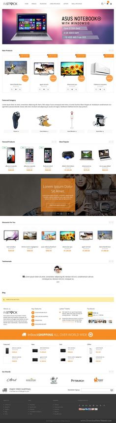Instock is a premium responsive clean, modern and elegant design magento theme…