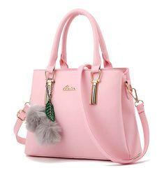 91650f56b4 Custom professional women s   girls fancy pink shoulder bag