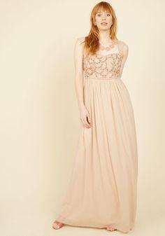 Adrianna Papell Balance and Beauty Maxi Dress