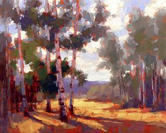 David Mensing Fine Art | It is Beauty It is Delight. (Summer Aspen in the Boulder Mountains, central Idaho)
